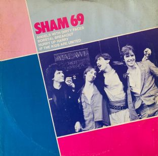 "Sham 69 ‎- Angels With Dirty Faces (12"") (VG-/G++)"